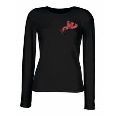 """Red Phoenix"" Ladies Longsleeve T-Shirt"