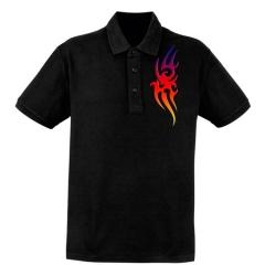 """""""Colored"""" Tribal Poloshirt"""